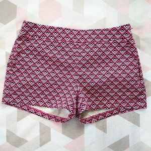 Express Geometric Printed Shorts Hot Pants 00
